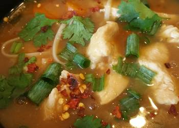 How to Recipe Tasty PF Changs copy cat chicken noodle remix
