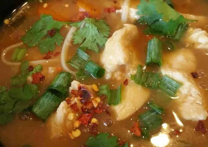 P.F Changs copy cat chicken noodle remix