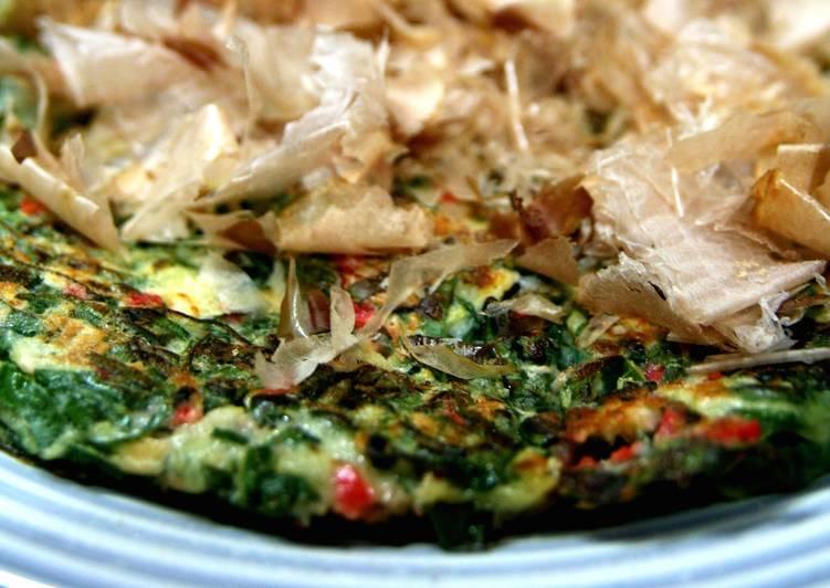 Easy Homemade Yummy! Leek Okonomiyaki Recipe