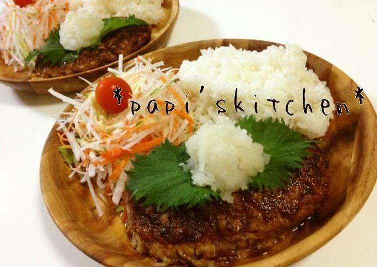 Bikkuri Restaurant-style Hamburger