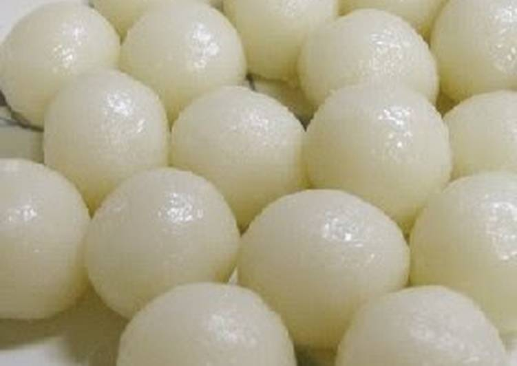 Steamed and Delicious Basic White Dango