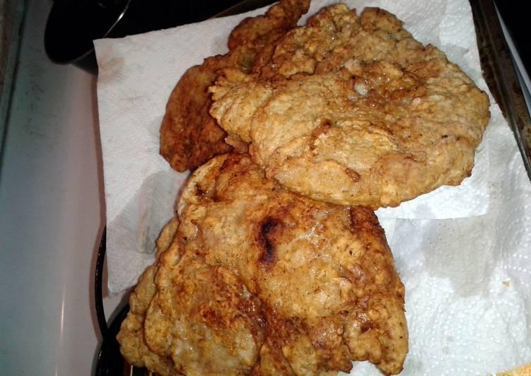 Southern Cast Iron Fried Pork Chops