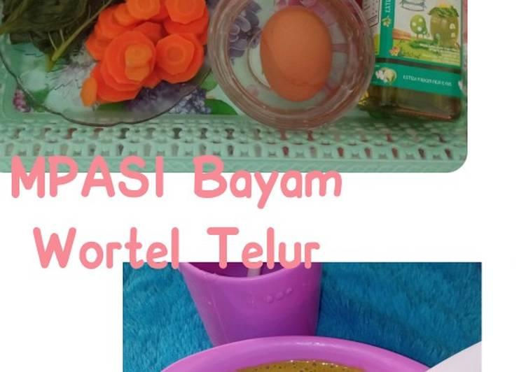 MPASI Bayam Wortel Telur