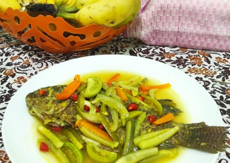 Pesmol Ikan Gurame (menu diet)