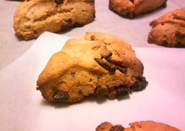 Easy with Pancake Mix, Starbucks-style Scones