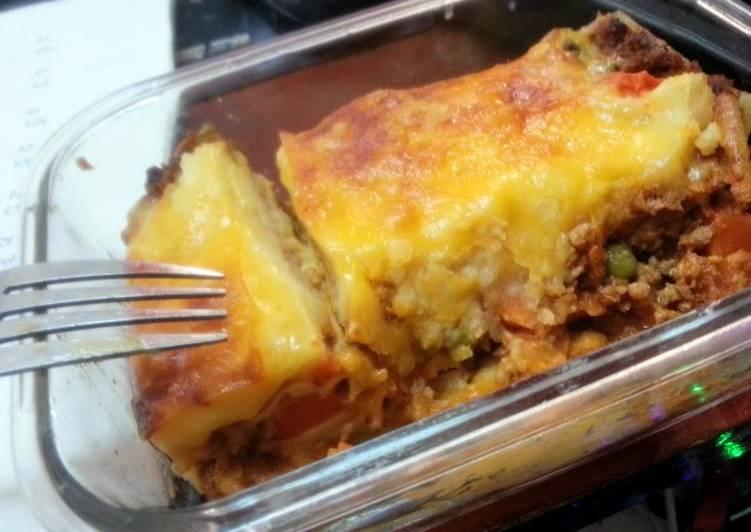 Potato Crust Lasagna
