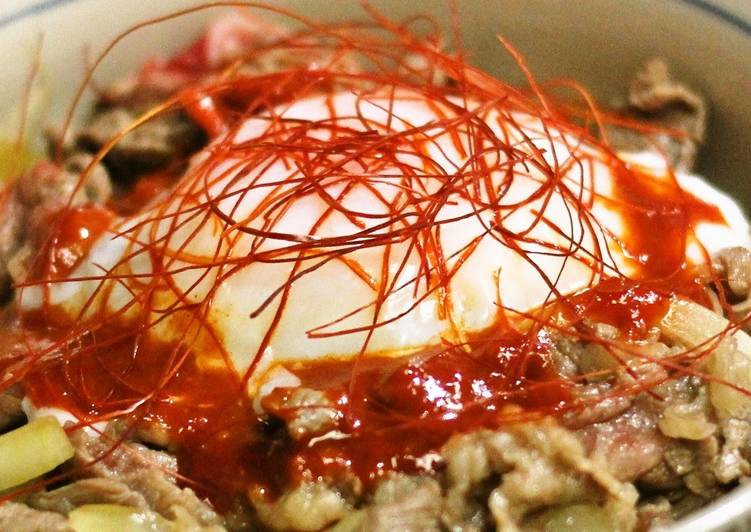 Tokyo-style Gyuudon Beef Rice Bowl, Heart Friendly Foods You Need To Be Eating