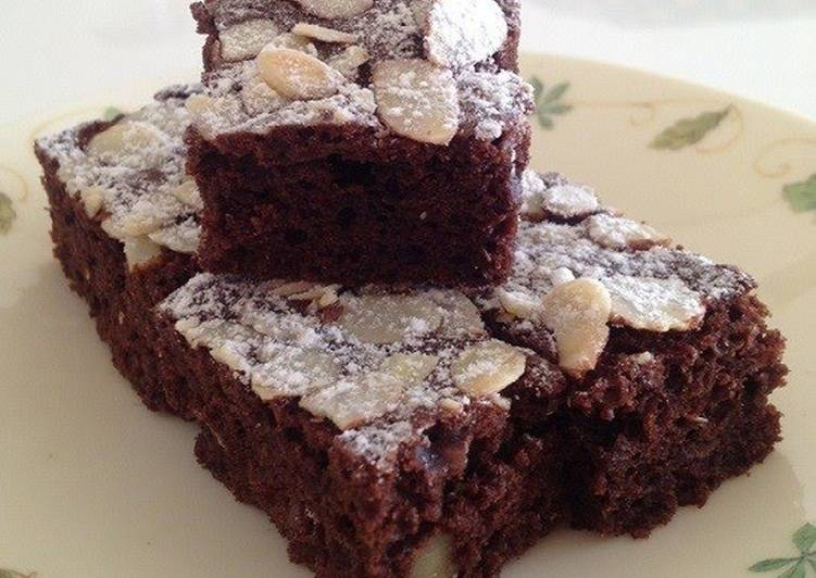 Rich, Easy Brownies with Pancake Mix
