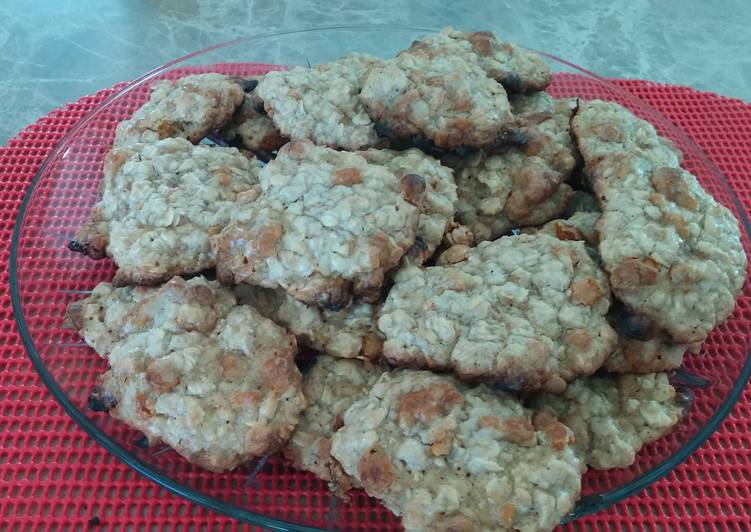 25 Minute Simple Way to Make Diet Perfect Oatmeal Butterscotch Cookies