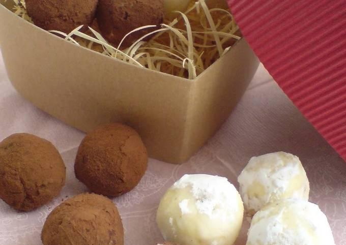 Chocolate Truffles Like Melty Cream Cheese Truffle