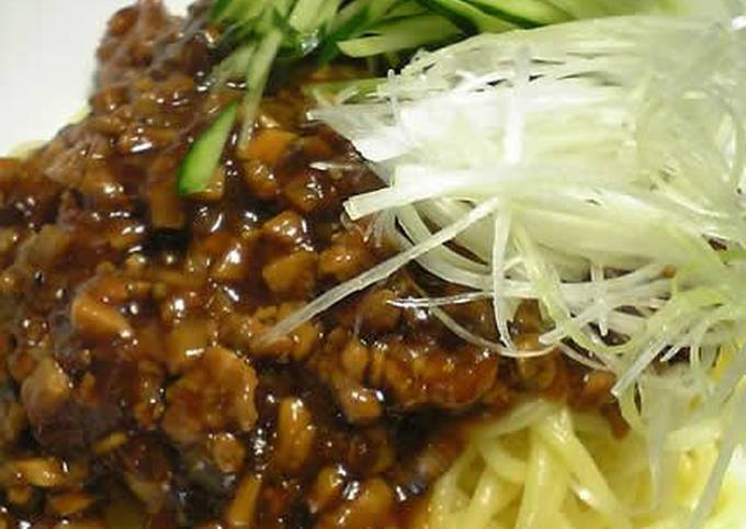 Recipe: Tasty A Perfected Recipe for Zhajiangmian