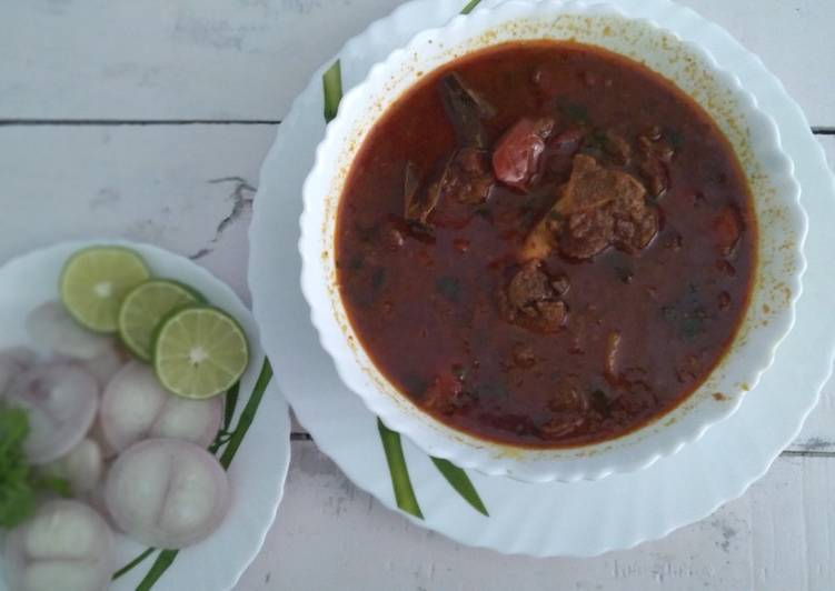 Sindhi mutton curry(Teevan recipe)