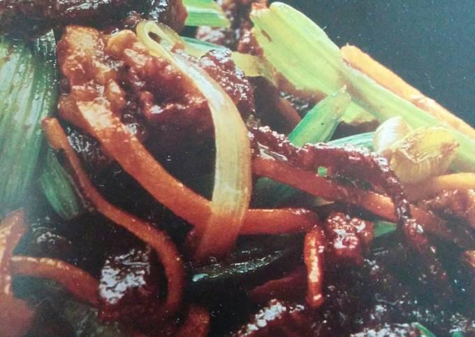 Dry-Fried Crispy Beef