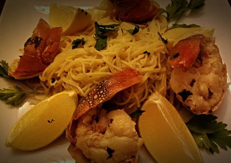 Easiest Way to Prepare Tasty Lobster Scampi With Angel Hair Starter