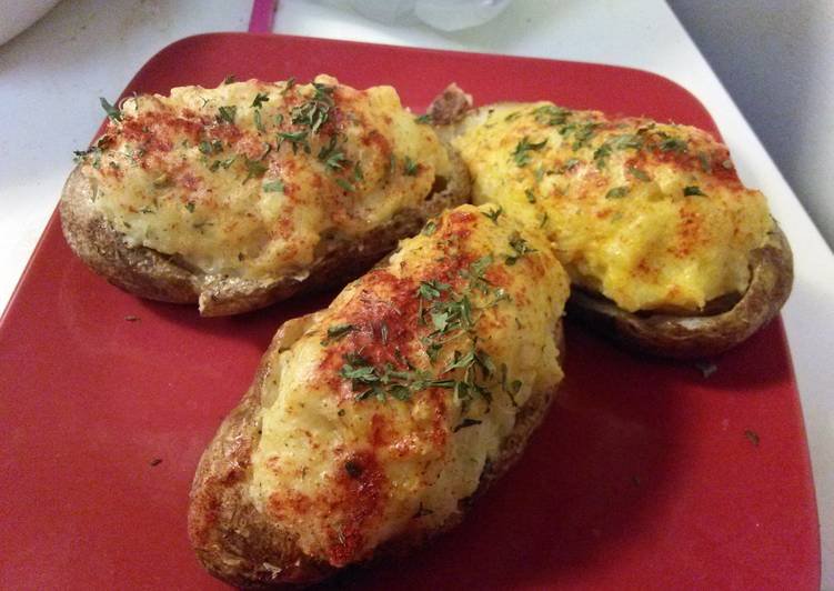 Mel's New York Twice Baked Potatoes