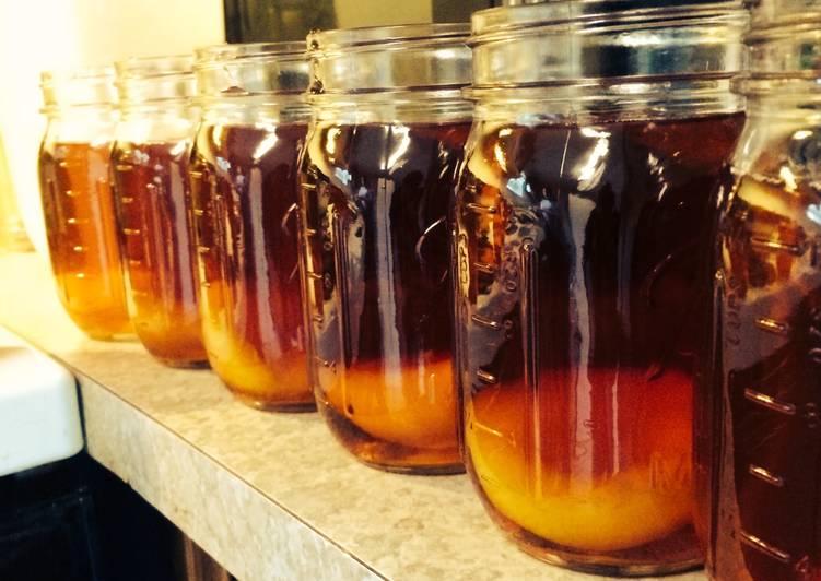 Step-by-Step Guide to Prepare Any-night-of-the-week Vanilla Peach Kickin' Sweet Tea