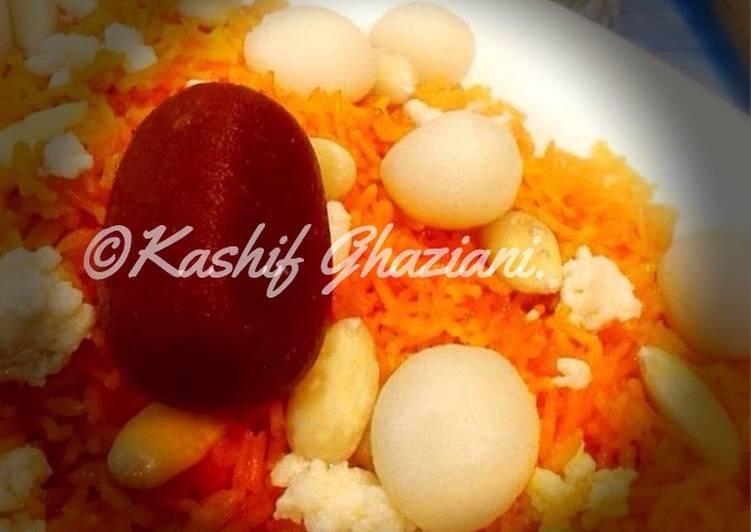 Recipe of Any-night-of-the-week Meethay Chawal / Zarda #EidKiMeethas