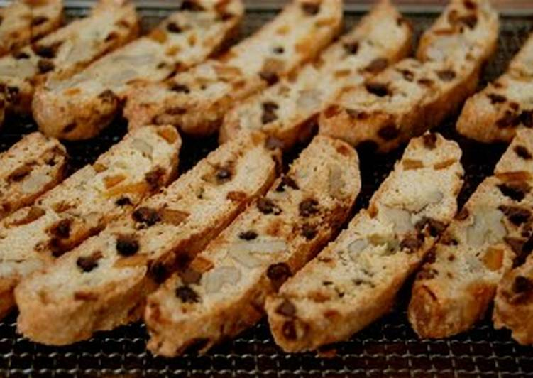 Recipe of Ultimate Super Crunchy Easy Biscotti