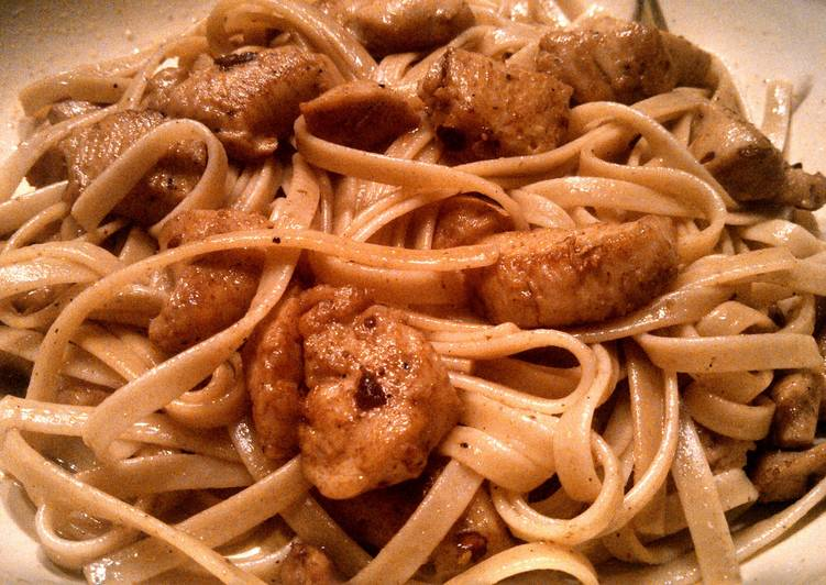 Easiest Way to Prepare Tasty Chicken Scampi Pasta