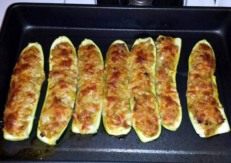 New Secret Stuffed Zucchini Boats Free Download
