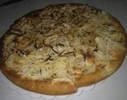 Pizza. Fugazzeta rellena