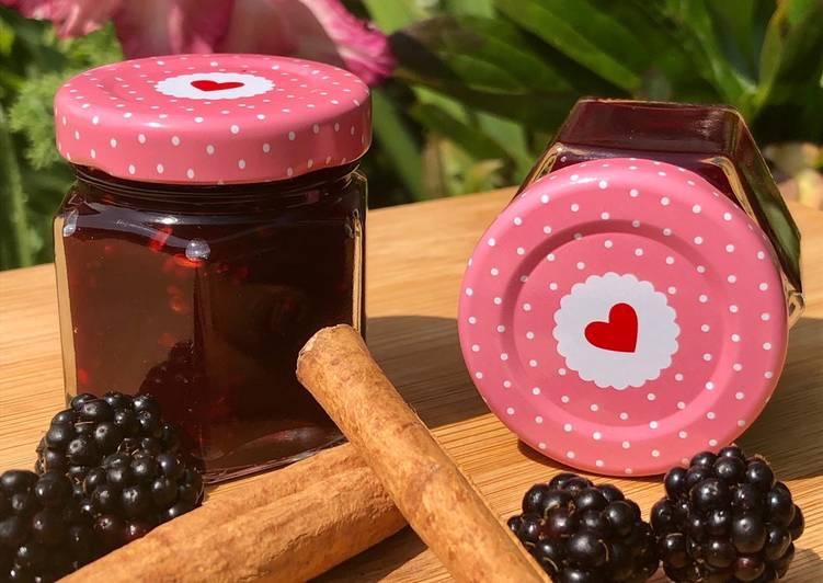 Brombeere-Apfel-Zimt-Marmelade