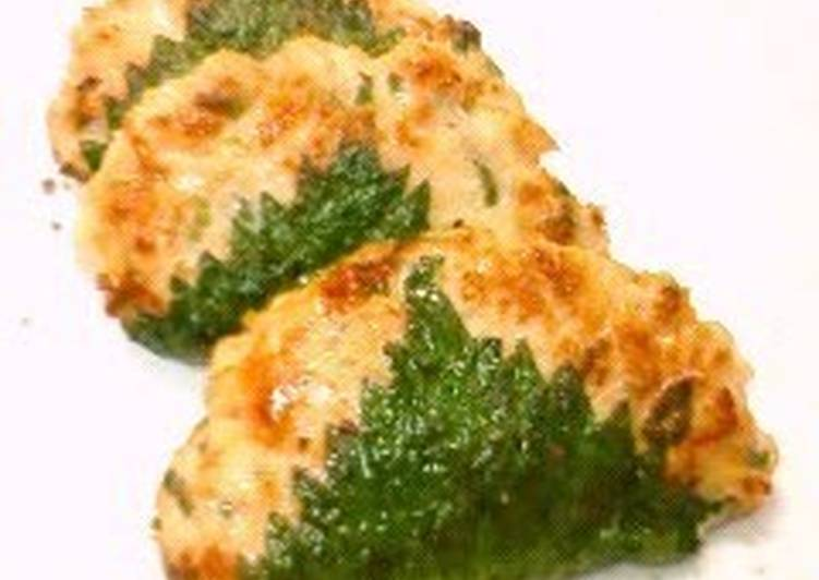 Recipe of Homemade Sanga-yaki (A Chiba Speciality) Made with Minced Chicken