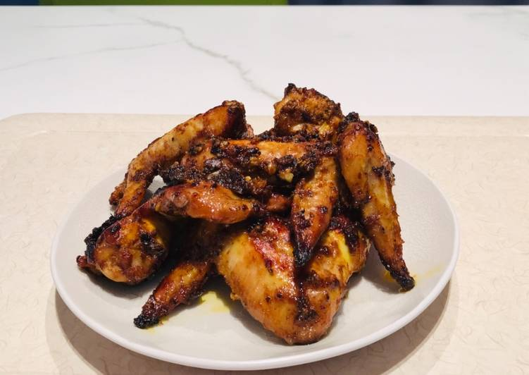 Step-by-Step Guide to Prepare Quick Grilled chickenwings