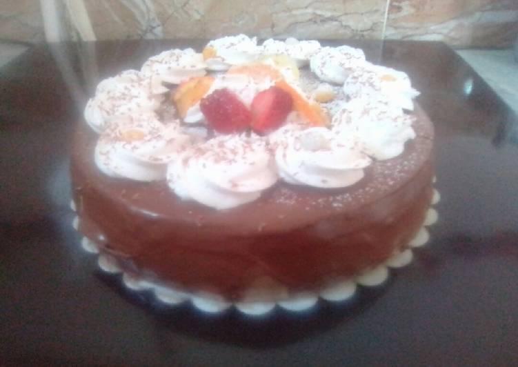 لاترت تاع عيد ميلاد ابني بالصور من قناة مطبخي كوكباد