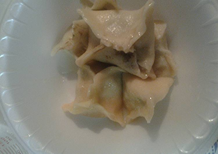 Homemade wonton or eggroll wrappers