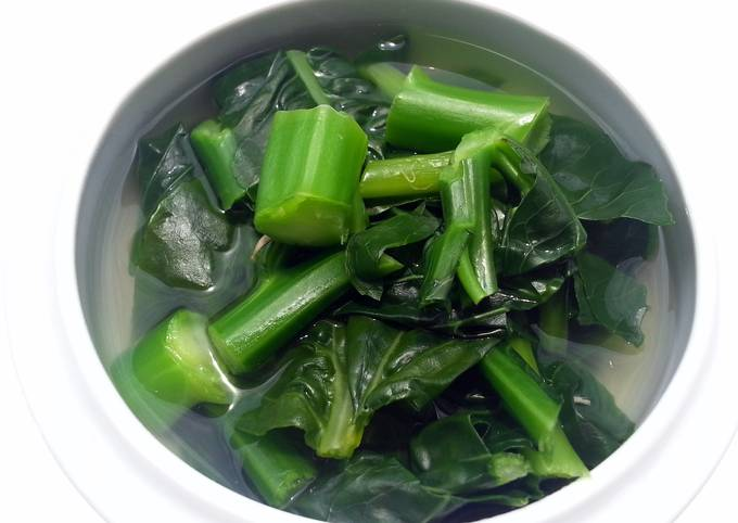 LG's Chinese Brocoli In Abalone Broth
