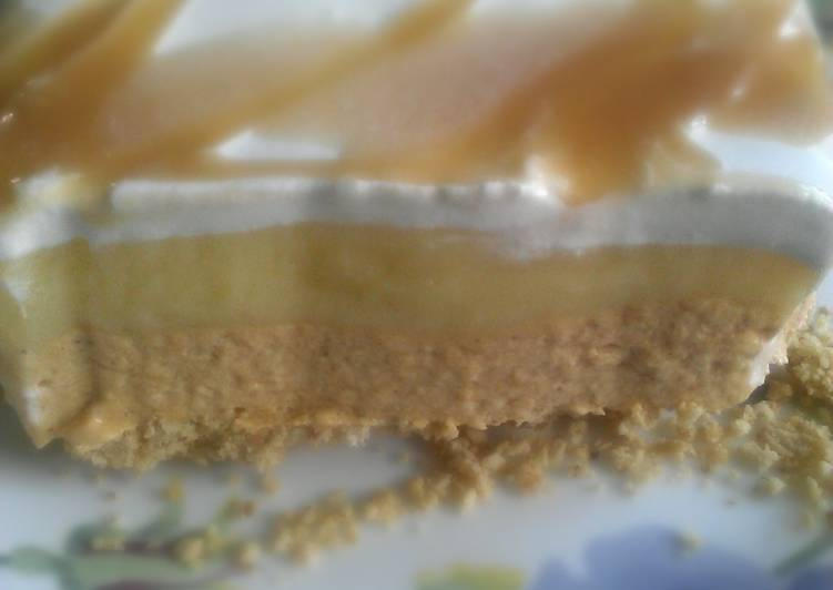 No Bake Pumpkin Spice layered Dessert