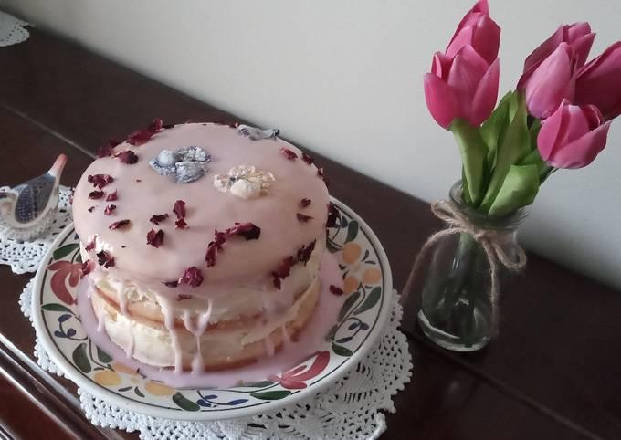 Rose & Lemon (Wheat Free) Celebratory Cake