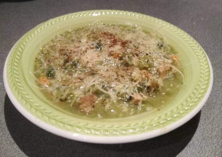 Ricetta Zuppa al sesamo