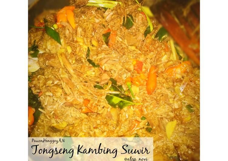 Tongseng Kambing Suwir - No Ribet - cookandrecipe.com