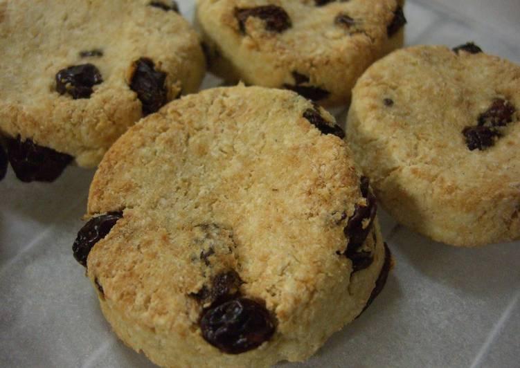 Okara Cookies with Raisins - Laurie G Edwards