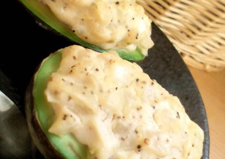 Easy Side Dish: Avocado and Tofu Mayo au Gratin