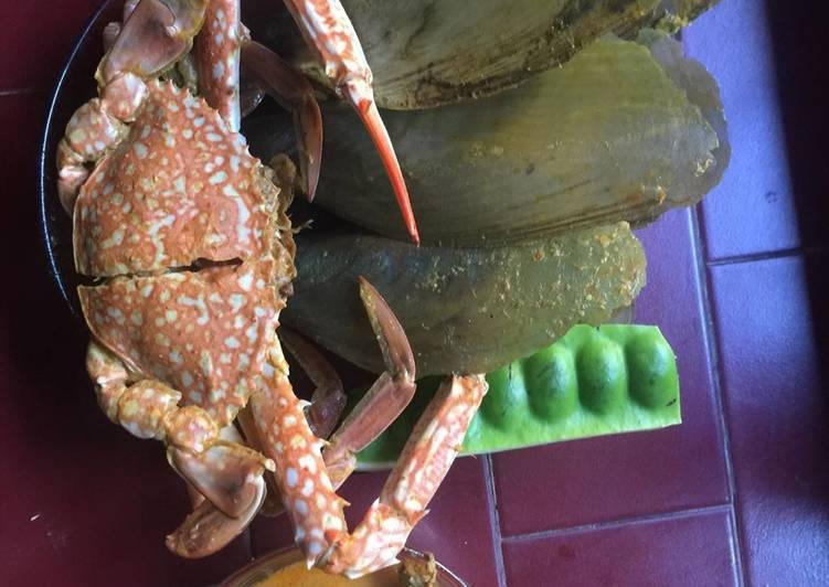 Gulai seafood