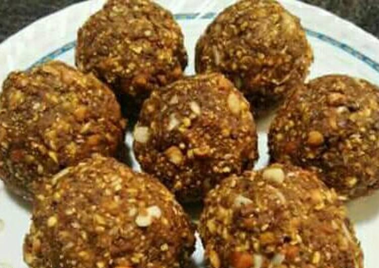 Recipe of Homemade Til chana ladoo