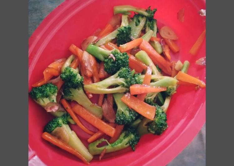 Tumis Brokoli Wortel (menu balita)