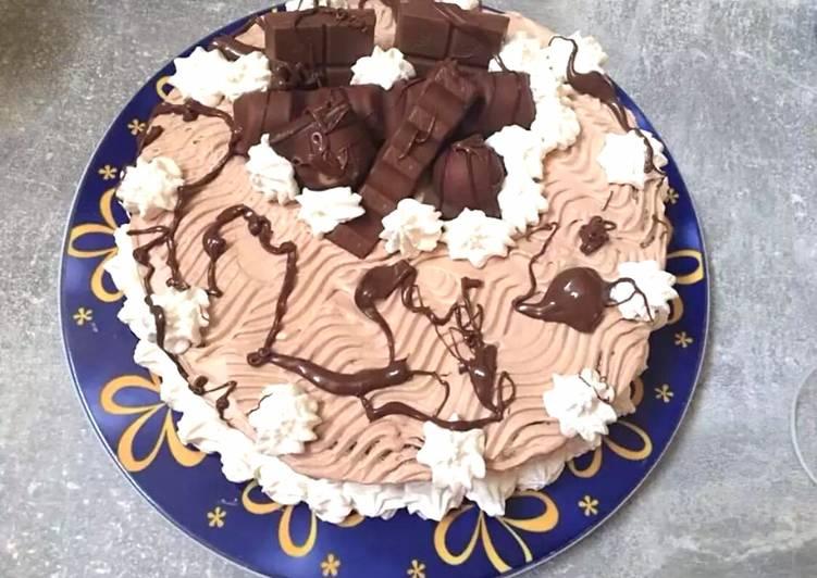 Torta delizia kinder e Nutella