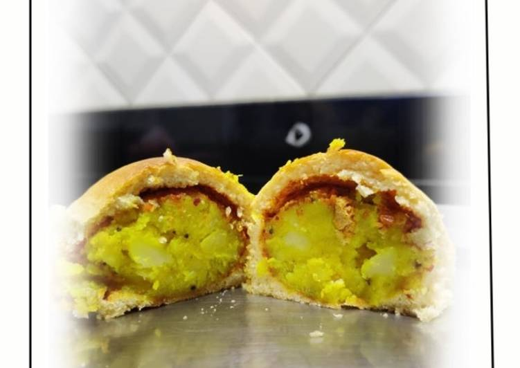 Recipe of Award-winning Baked vadapav