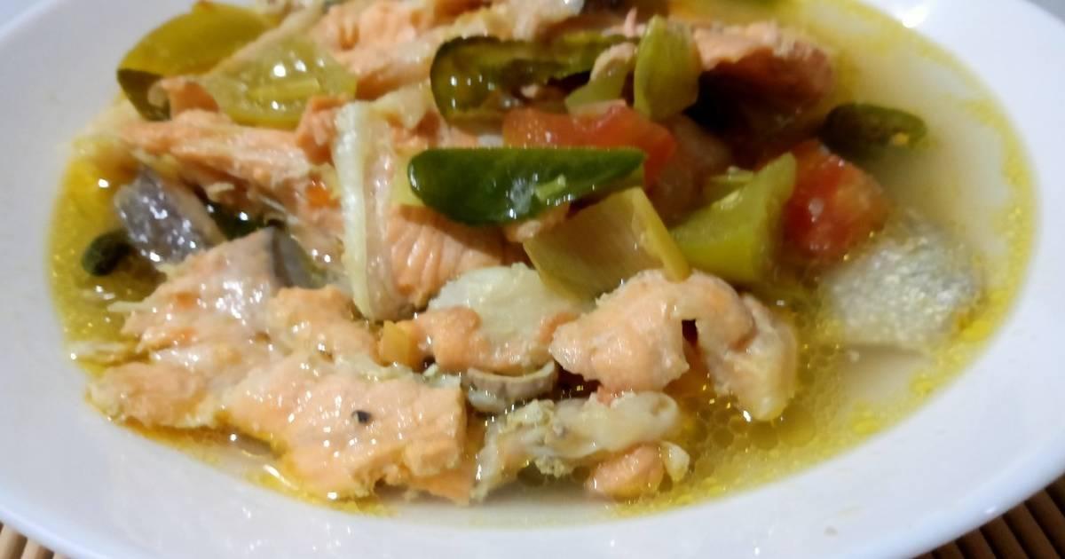 Resep Sup Salmon Kuah Pedas Oleh Boendo Cookpad