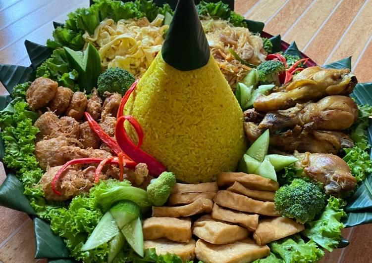 Nasi kuning mudah dan praktis