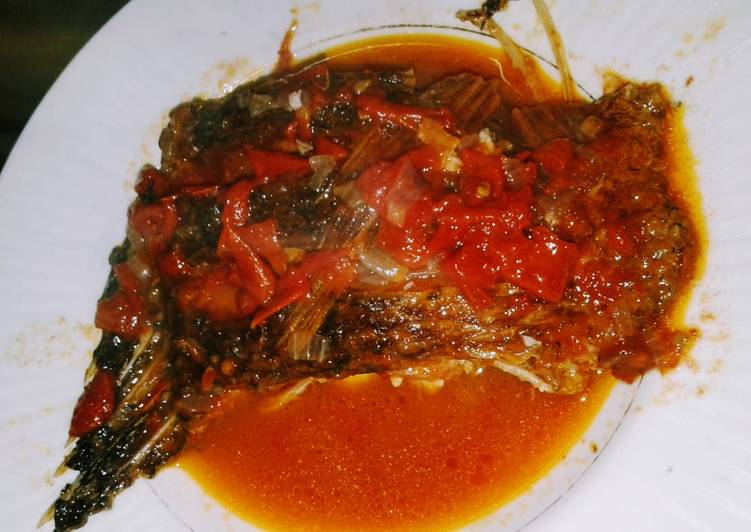 How to Prepare Super Quick Homemade Stewed fresh tilapia