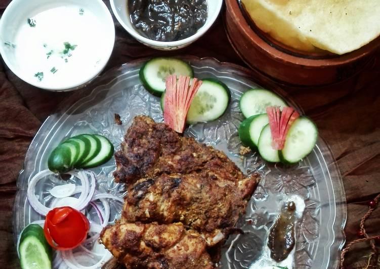 Simple Way to  Behari Chicken Tikka (Oven Baked)
