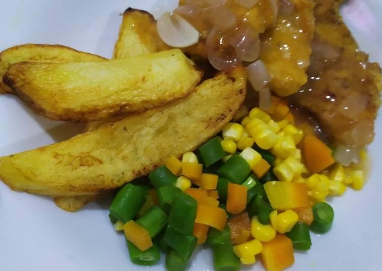 Chicken Steak Jawa