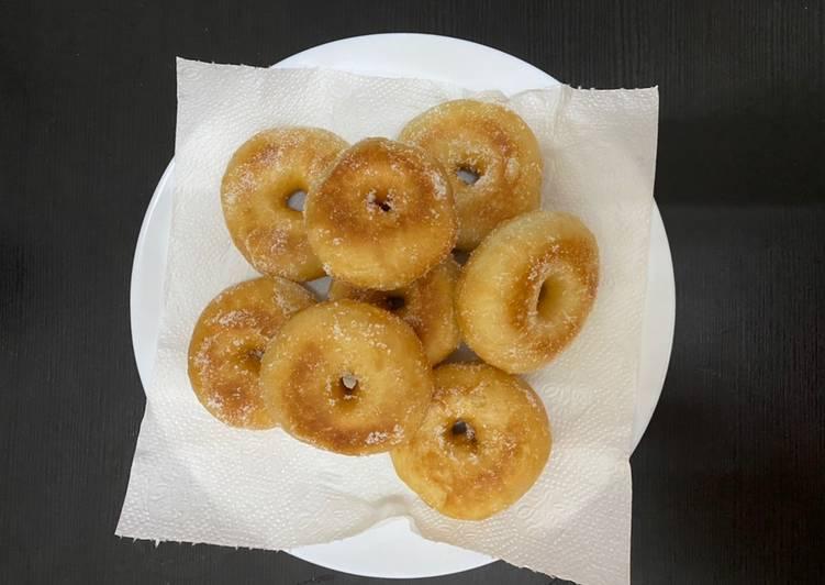 Resepi:  Donut Gebu Confirm Jadi Simple