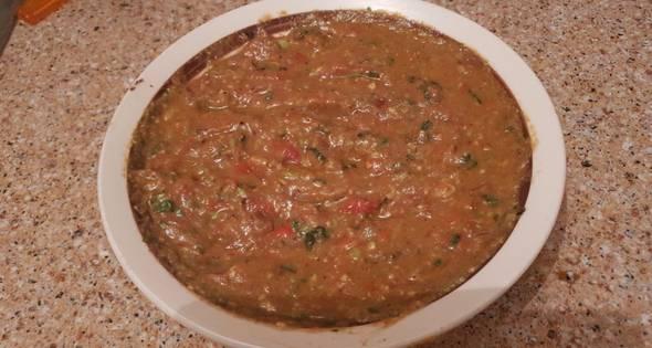 Salsa De Verduras Para Acompañar Con Arroz O Carne A La Plancha