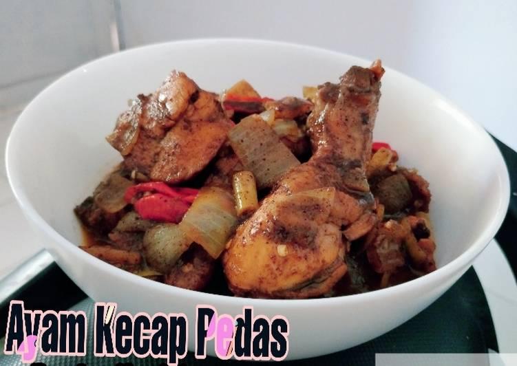 Langkah Mudah untuk Menyiapkan Ayam Kecap Pedas (bumbu Ngohiong) Anti Gagal